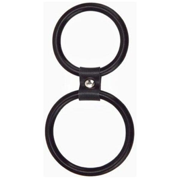 Dual Rings - Shaft & Balls Ring
