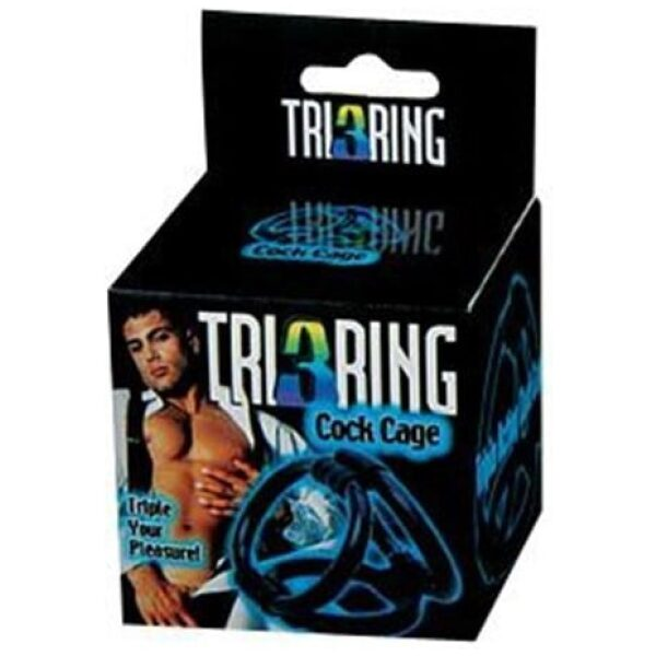Tri 3 Ring Cock Ring