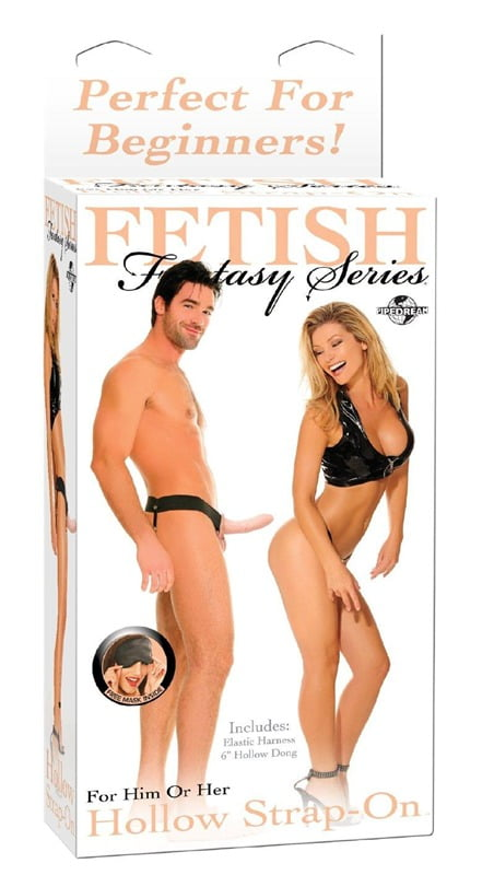 "Fetish Fantasy 6"" Hollow Strap-On"