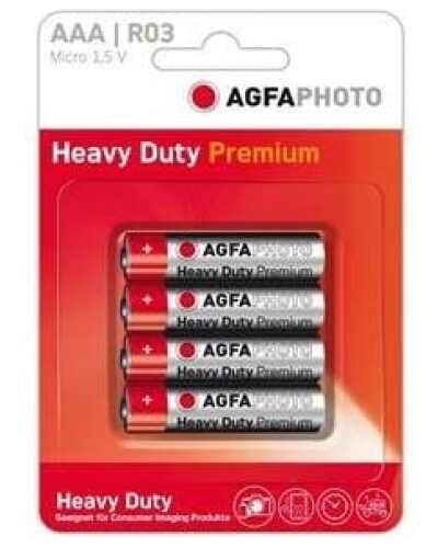 AGFA AAA Batteries (Pack of 4)