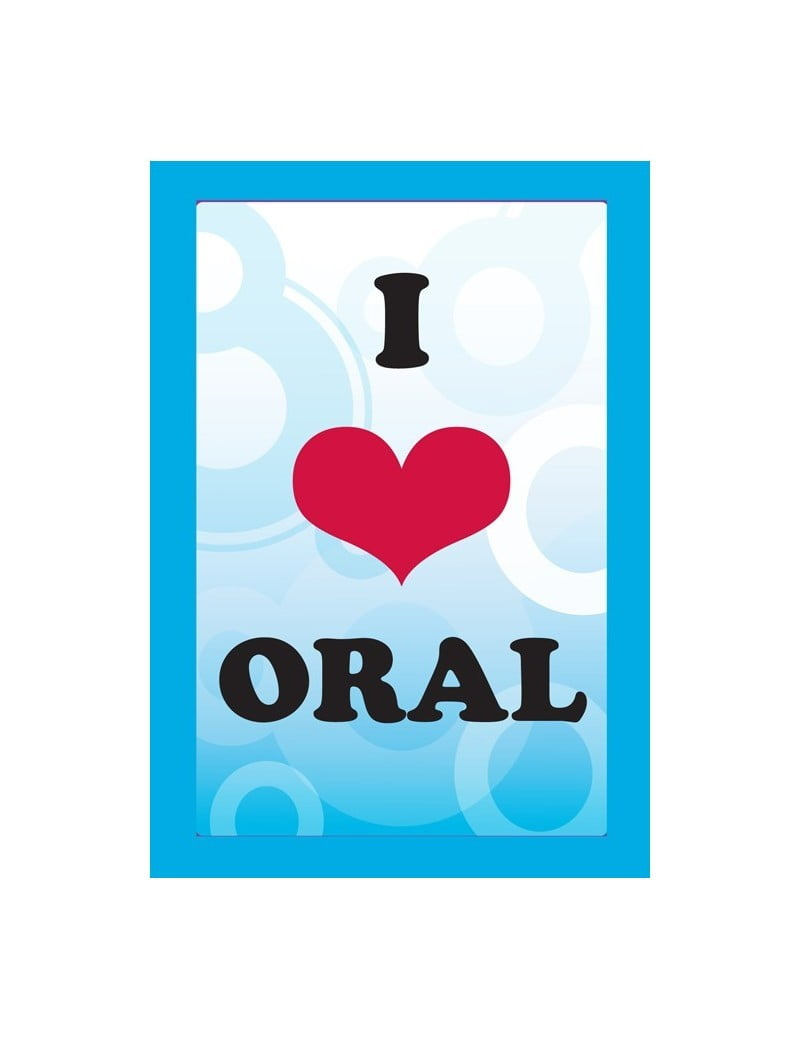 I LOVE ORAL CARD