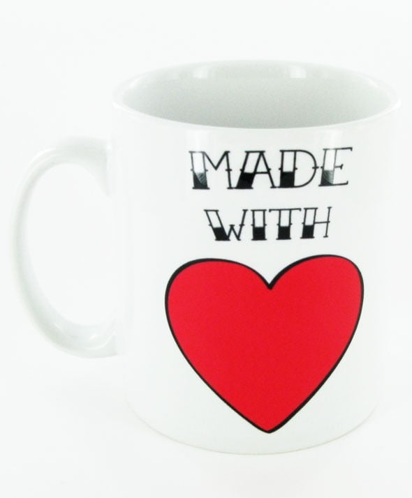 MADE WITH LOVE MUG-1986