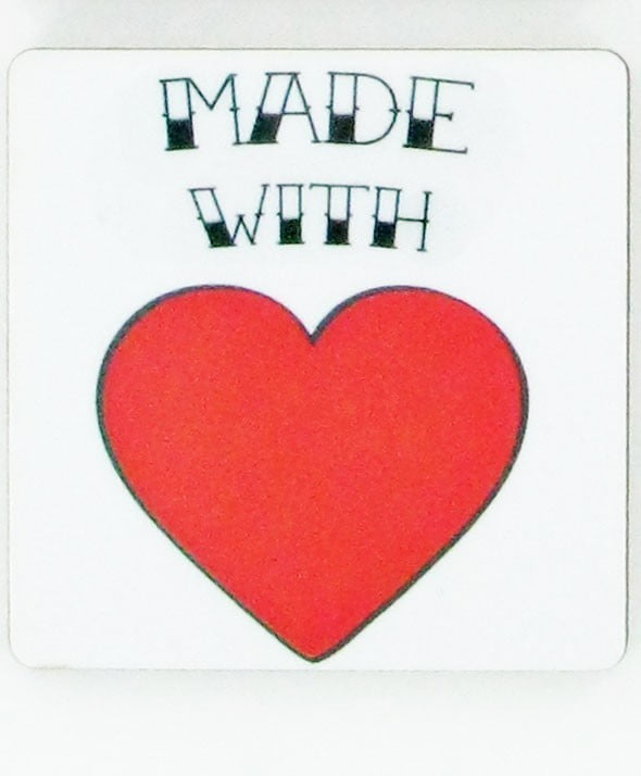 MADE WITH LOVE MAGNET-1987