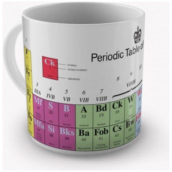 Periodic Table of Swearing Mug-2259