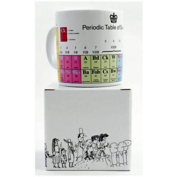 Periodic Table of Swearing Mug-2260