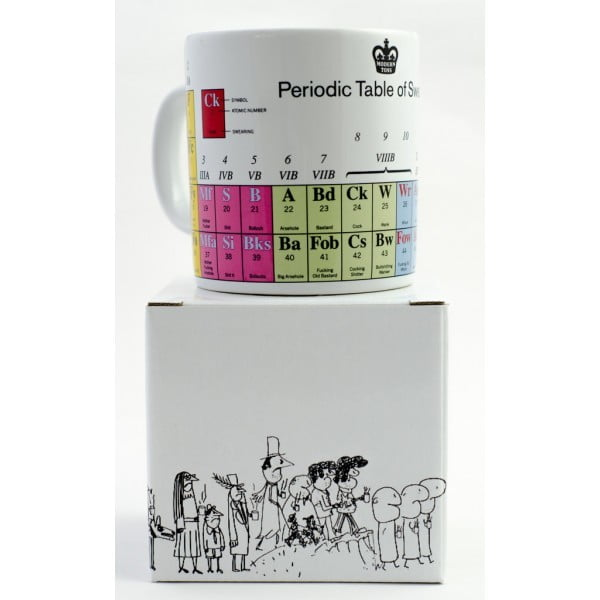 Periodic Table of Swearing Mug-2260