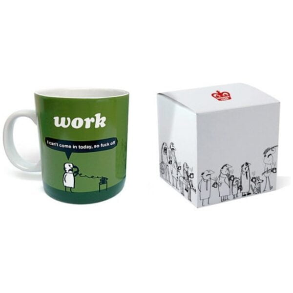 Work Fuck Off Mug-2266
