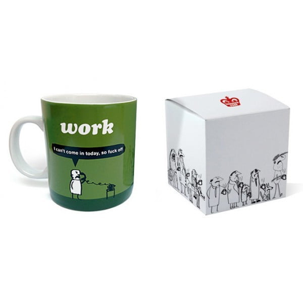 Work Fuck Off Mug-2266