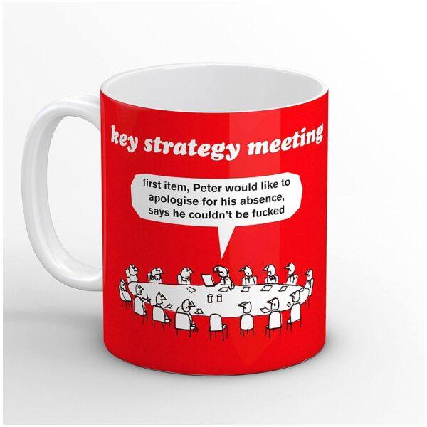 Key Strategy Meeting Mug